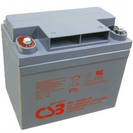 CSB HRL12150W FR U1 37ah High Rate 10 Year Design UPS Backup Battery