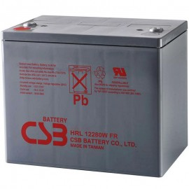 CSB HRL12280W FR Grp 24 75 ah High Rate Long Life UPS Backup Battery