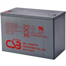 CSB HRL12330W FR Grp 27 88 ah High Rate Long Life UPS Backup Battery