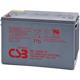CSB HRL12390W FR Grp 31 100ah High Rate Long Life UPS Backup Battery