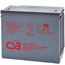 CSB HRL12500W FR 134 ah High Rate 10 Year Design UPS Backup Battery