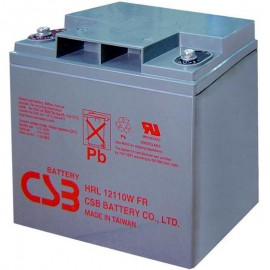 CSB HRL12110W FR 27 ah High Rate Long Life UPS Backup Battery