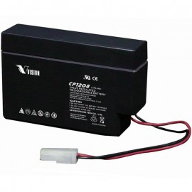 CP1208 Sealed AGM 12 volt 0.8ah Vision Battery
