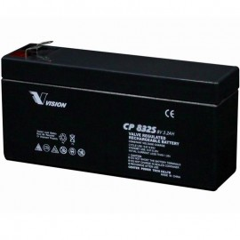 CP832S Sealed AGM 8 volt 3.2 ah Vision Battery