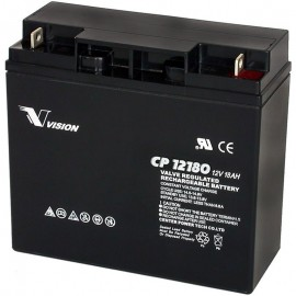 S CP12180 Sealed AGM 12 volt 18 ah Vision Battery