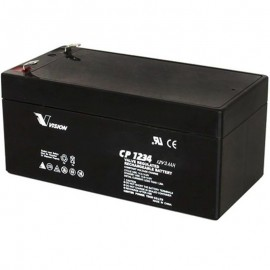 S CP1234 Sealed AGM 12 volt 3.4 ah Vision Battery