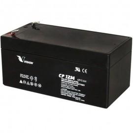 S CP1234 Sealed AGM 12 volt 3.4 ah Vision Battery