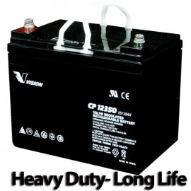 S CP12350 Sealed AGM 12v 35ah U1 Long Life Vision Battery