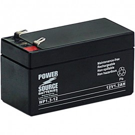 WP1.3-12 Sealed AGM Battery 12 volt 1.2 ah Power Source
