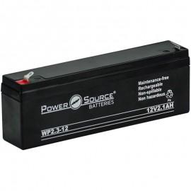 WP2.3-12 Sealed AGM Battery 12 volt 2.1 ah Power Source