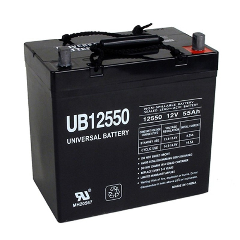 Pride Mobility Quantum 600 Q600 Replacement Battery