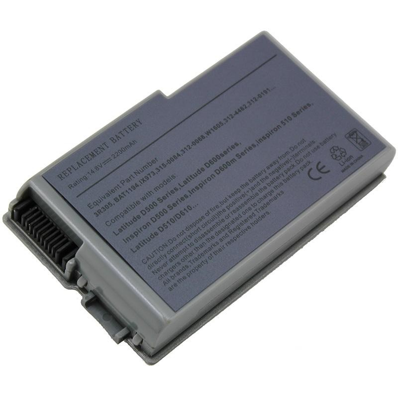 Dell Latitude D600 Series Notebook Laptop Battery Replacemnt 2200mah
