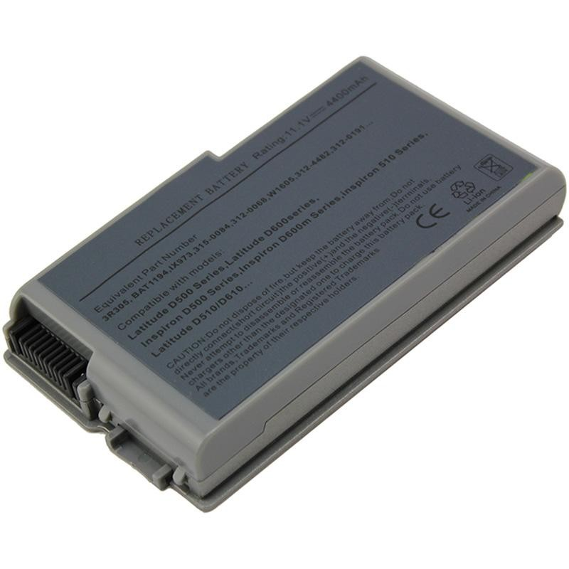 Dell Inspiron 600m Series Notebook Laptop Battery Replacemnt 4400mah