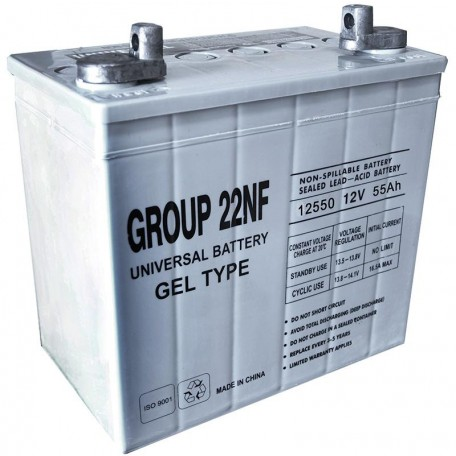 UB-22NF GEL replaces Tempest 12v 55 ah TG55-12 Wheelchair Battery
