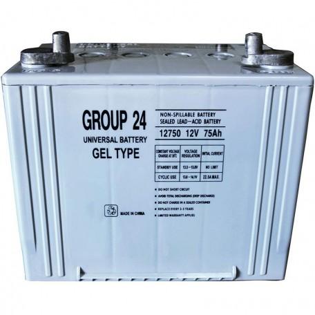 PRIDE BATGEL1009 UB-24 GEL 12v, 75ah, 70ah Replacement Battery