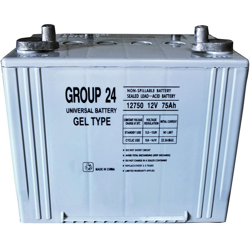 ub 24 gel replaces enduring 70 ah gel 24dc group 24 solar battery. Black Bedroom Furniture Sets. Home Design Ideas