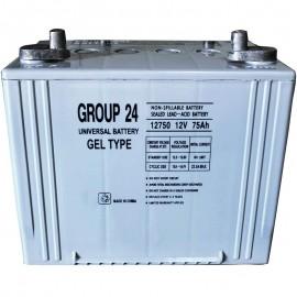 Universal Power 12 Volt 75 ah UB-24 GEL Wheelchair Mobility Battery