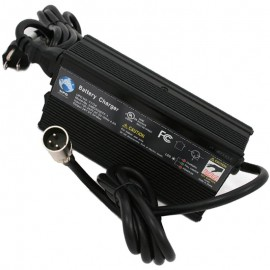 24v 5 amp 24BC5000TF-1 off-board SLA AGM Battery charger has fan, XLR