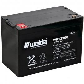 WB12900 IT SLA AGM Grp 24 12v 90ah Internal Threads Weida Battery