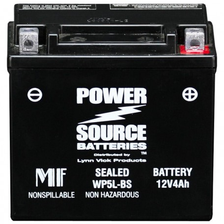 Kawasaki GT5L-BS Sealed Maintenance-Free ATV Replacement Battery