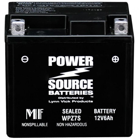 Honda GTZ7S Sealed Motorcycle Replacement Battery