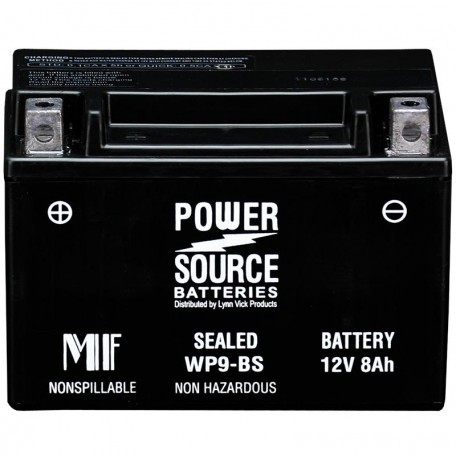 Kawasaki 260121326 Sealed Maintenance-Free ATV Replacement Battery