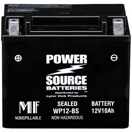 Honda 31500-KM1-837 Sealed Motorcycle Replacement Battery