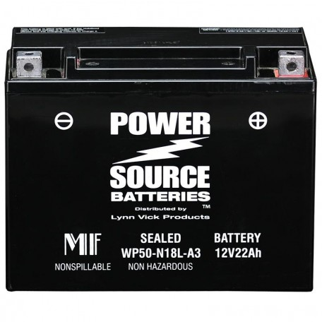 1983 FLTC Tour Glide Classic-Sidecar Motorcycle Battery for Harley