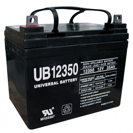 12 Volt 35 ah U1 Alarm Battery replaces 33ah Yuasa Enersys NP33-12