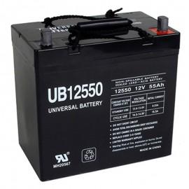 12 Volt 55 ah 22NF Fire Alarm Battery replaces Fire-Lite BAT12550