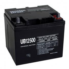 12 Volt 50 ah Fire Alarm Battery replaces 40ah PE12-40