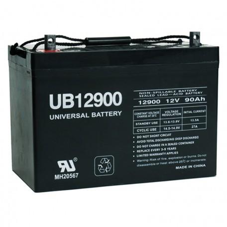 12 Volt 90 ah (12v 90a) UB12900 Fire Alarm Control Panel Battery