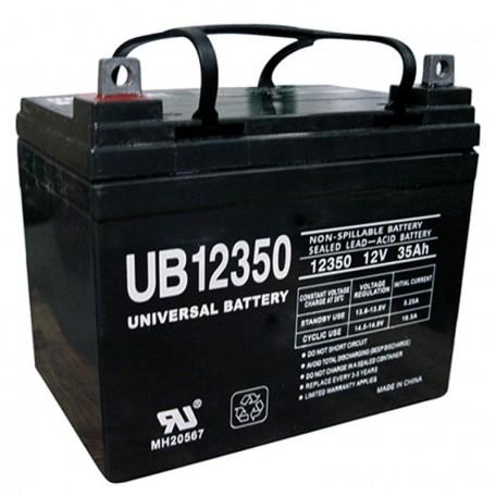 12 Volt 35 ah U1 UB12350 Fire Alarm Battery also replaces 31a, 32a, 33a