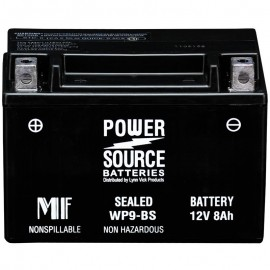 Power Source WP9-BS Sealed AGM 180cca Motorcycle Battery