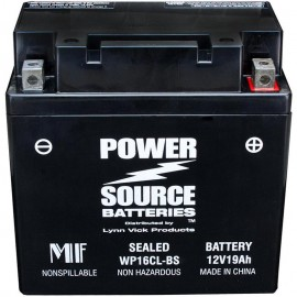 Power Source WP16CL-BS Sealed AGM 300cca Jet Ski PWC Battery