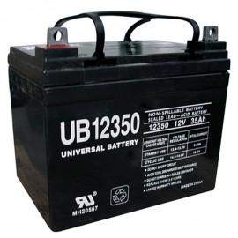 12 Volt 35 ah U1 Fire Alarm Battery replaces 33ah Silent Knight 6933