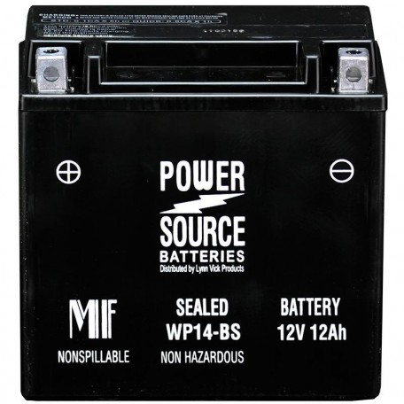 Honda 31500-HC4-726AH Sealed Motorcycle Replacement Battery