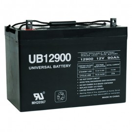 12 Volt 90 ah Deep Cycle Sealed AGM Solar Battery also replaces 104 ah