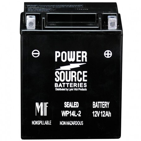 Honda CB14L-A2 Sealed Motorcycle Replacement Battery