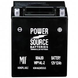 1984 Honda VF700S Sabre VF 700 S Sealed Motorcycle Battery