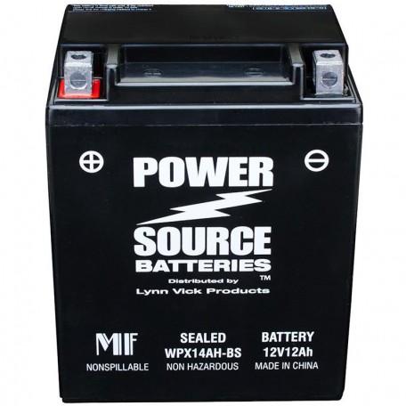 Kawasaki 26012-1146 Sealed Maintenance-Free ATV Replacement Battery