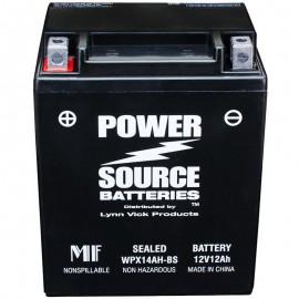 Kawasaki CB14A-A2 Sealed Maintenance-Free ATV Replacement Battery