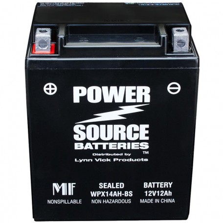 Kawasaki K26012-2501 Sealed Maintenance-Free ATV Replacement Battery