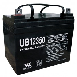 12 Volt 35 ah U1 UB12350 Wheelchair Scooter Battery replaces 31a, 32a, 33a