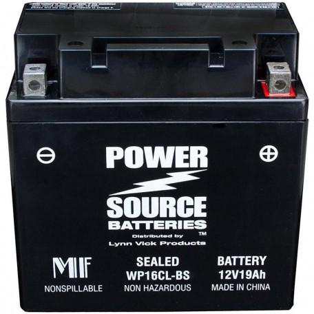 Kawasaki 26012-1242 Sealed Maintenance-Free ATV Replacement Battery