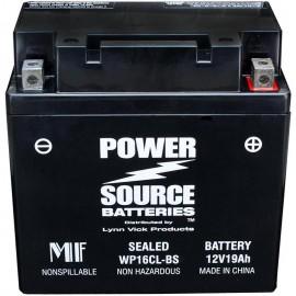 Kawasaki 26012-3701 Sealed Maintenance-Free ATV Replacement Battery
