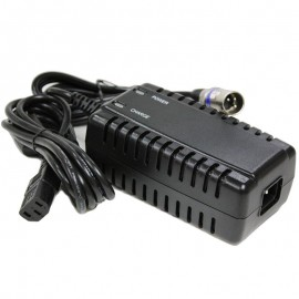 24v 3.5 amp A24030-10D off-board SLA AGM Battery Charger XLR connector