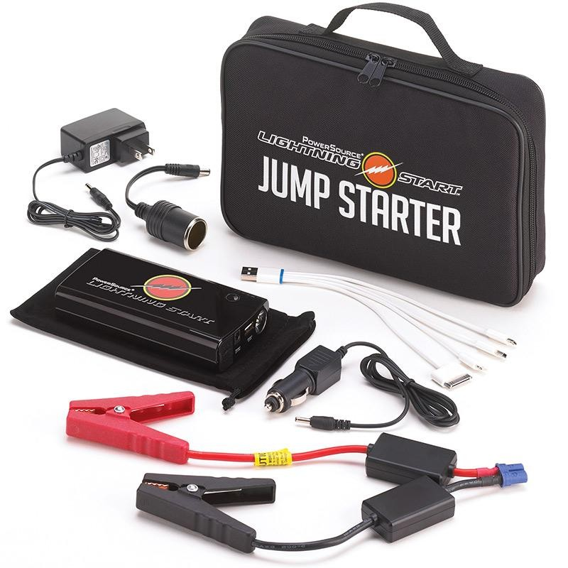 12v lightning start lithium jump start auxiliary battery power pack. Black Bedroom Furniture Sets. Home Design Ideas