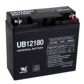 12 Volt 18 ah Alarm Battery replaces 17ah GE Security Caddx 60781