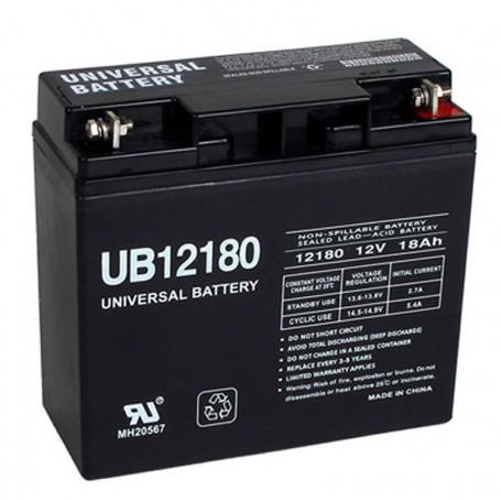 12 Volt 18 ah Security Alarm Battery replaces 17ah Alarm Saf 00403